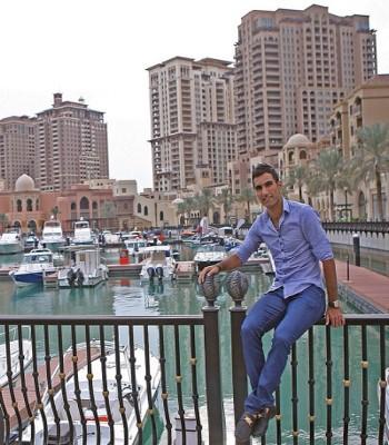 خوشگذرانی مهرداد پولادی در قطر