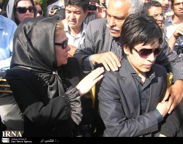 سومین روز درگذشت مرحوم قادری عکس فرزند ایرج قادری