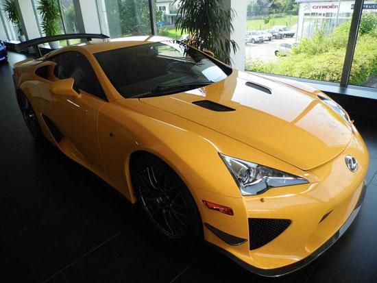 ماشین 7 میلیون دلاری لکسس LFA NURBURGRING