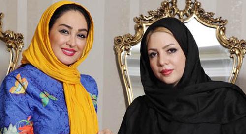 حضور متفاوت الهام حمیدی در افتتاحیه سالن زیبایی سوگند