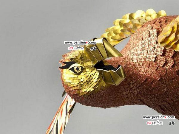 جنس این پرنده های زیبا شما را به حیرت می اندازد عکس