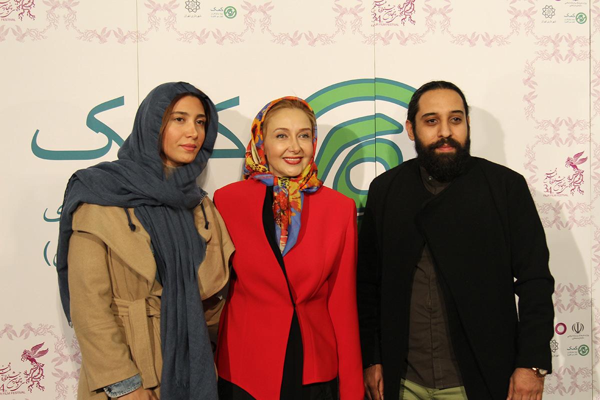 عکس هایی از حضور بنیاد کمک در کاخ مردمی