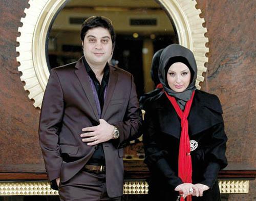 جشن چهارمین سالگرد ازدواج نیوشا ضیغمی و همسرش