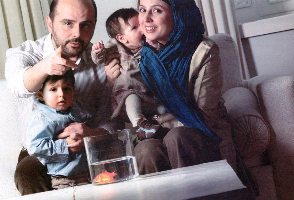 تصاویری منحصر به فرد از لیلا حاتمی و همسرش !