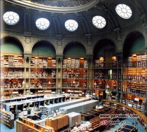 عکسهای دیدنی از زیباترین کتابخانه های جهان