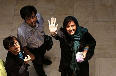 مهتابکرامتی در افتتاح سینما