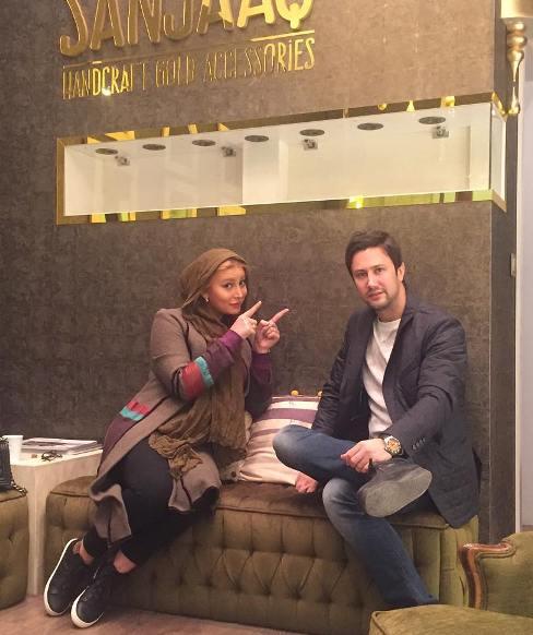 حاشیه های عکس یادگاری فریبا نادری در کنار بازیگر مرد متاهل