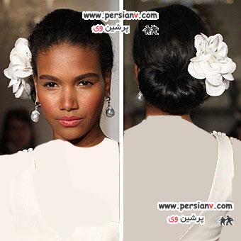 مدل موی عروس آفریقایی- آمریکایی (سری اول)