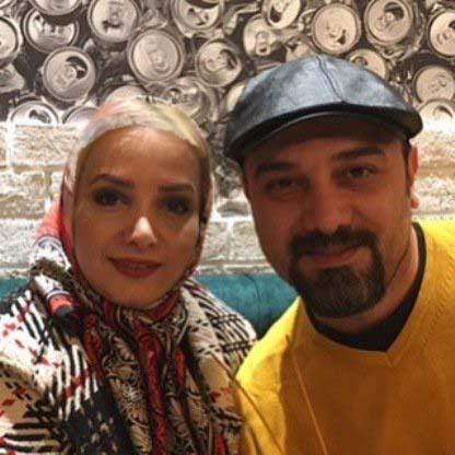 عکس های جدید برزو ارجمند و همسرش پارمیس زند