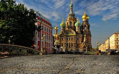کلیسای زیبای ناجی سن پترزبورگ ،روسیه  تصاویر