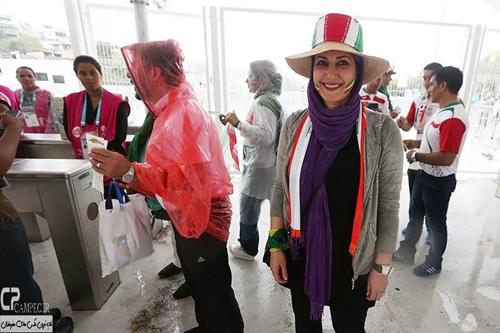 هنرمندان ایرانی زیر باران برزیل خیس شدند