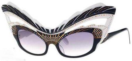 مدل های عجیب عینک های آفتابی  تصاویر