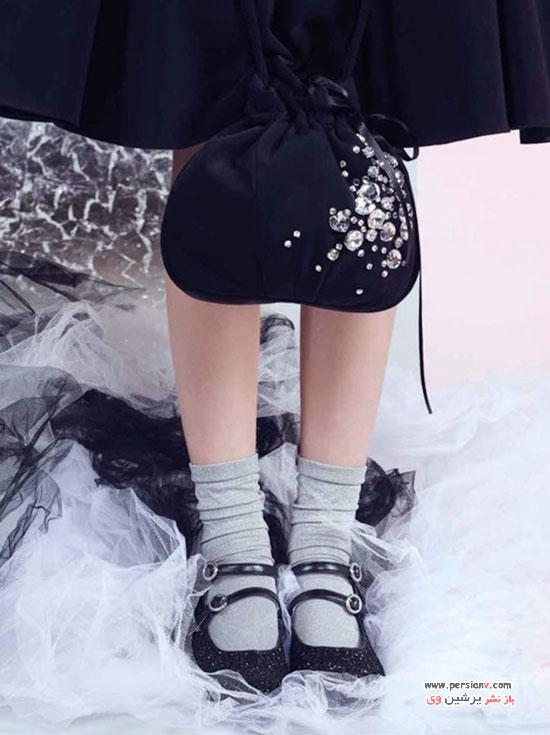 مدل لباس های دخترانه برند مونالیزا در مهمانی های زمستان 2016