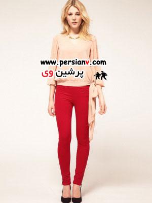 جدیدترین مدل های شلوار جین با رنگ های شاد و زیبا(عکس)