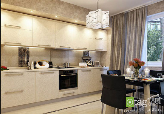 پرده های زیبا و شیک آشپزخانه