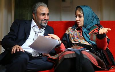 مهناز افشار و رضا عطاران در دیدار مردمی نهنگ عنبر