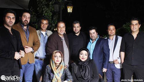 بازیگران و خوانندگان مشهور در مراسم رونمایی از کتاب زهرا عاملی