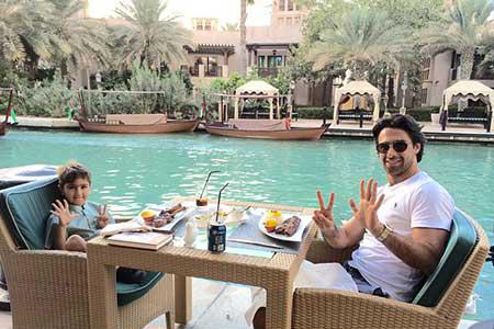 نجات فرهاد مجیدی از حادثه آتشسوزی هتل پنج ستاره در دبی