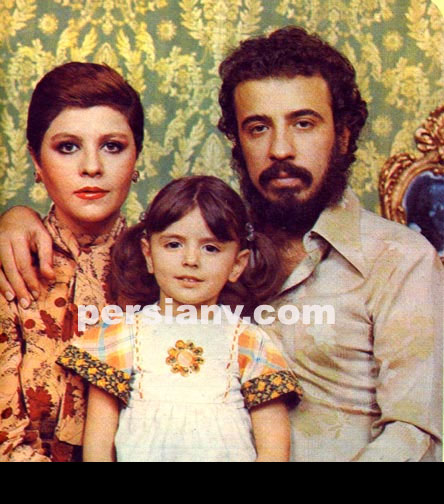 عکس : لیلا حاتمی و پدر و مادرش