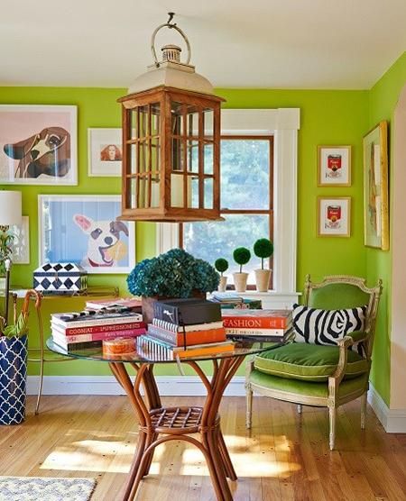 رنگ سال 2017 طراوت بخش دکوراسیون خانه