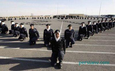 عکس : سربازان دختر در ارتش