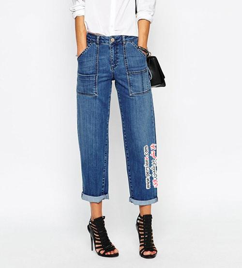 7 مد برتر شلوار جین زنانه در پاییز