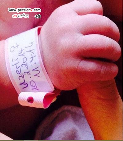 نوزاد مریم اوزرلی (خرم سلطان) به دنیا آمد