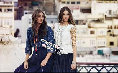 تصاویر جالبی از یک مادر و دختر مدل