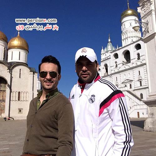 محمد سلوکی و احسان علیخانی در کاخ کرملین