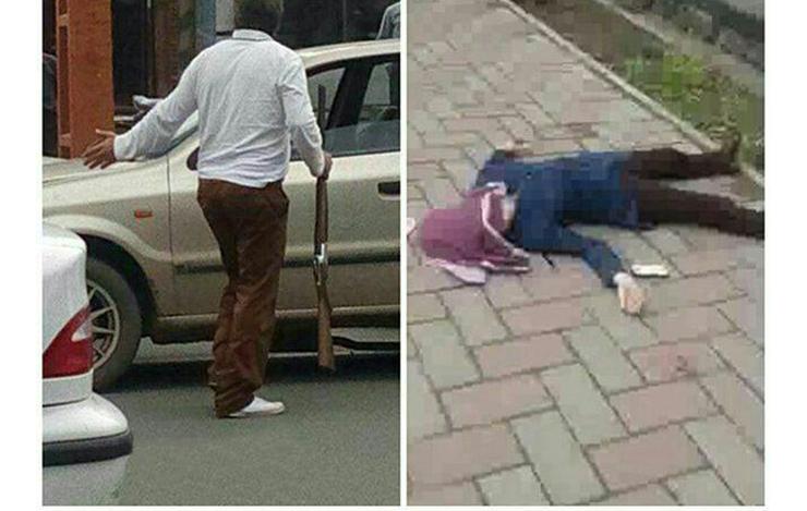 شلیک مرگبار مرد به دخترش