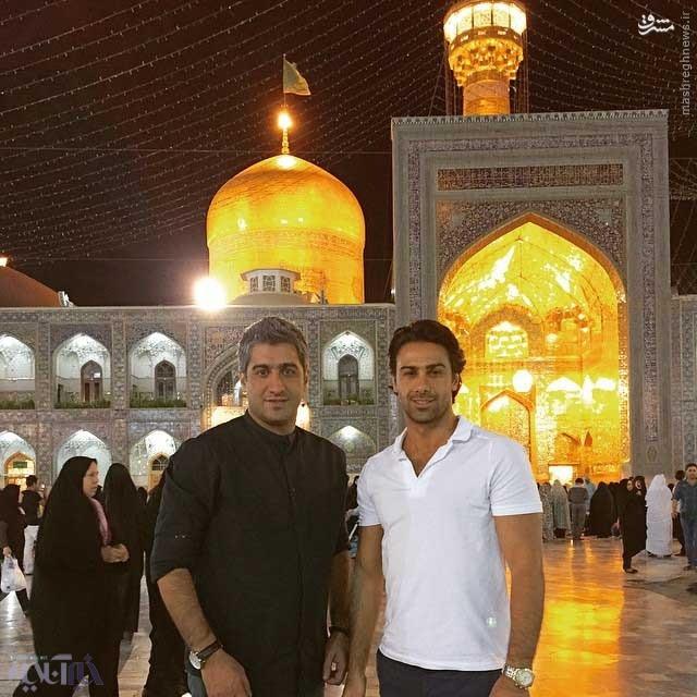 فرهاد مجیدی به مشهد رفت