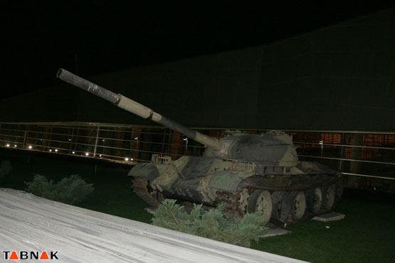 تصاویر جالب: باغ موزه دفاع مقدس در تهران