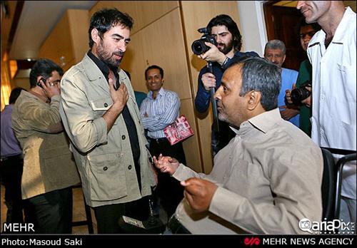 دیدار جمعی از بازیگران معروف با جانبازان آسایشگاه ثارالله