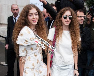 خواهران دوقلوی عرب که سوژه عکاسان شدند