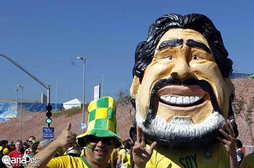عکسهای بسیار زیبا از مراسم افتتاحیه جام جهانی ۲۰۱۴ برزیل