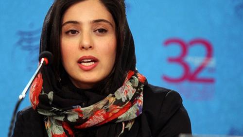 آناهیتا افشار در نشست خبری فیلم برف