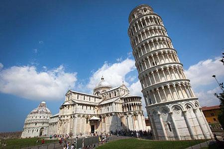 پیزا؛ جالبترین و قدیمیترین برج جهان