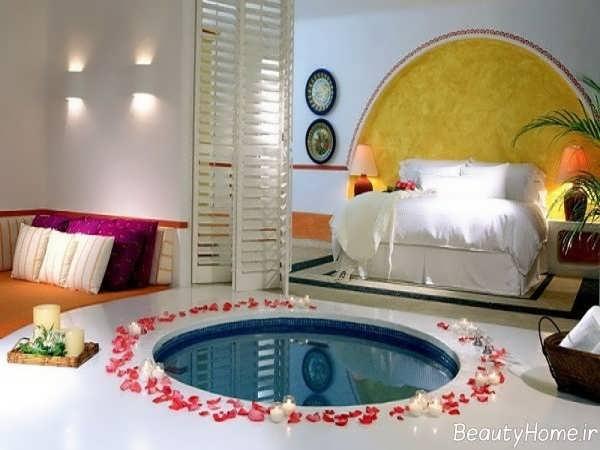 تزئینات شاعرانه برای اتاق خواب عروس