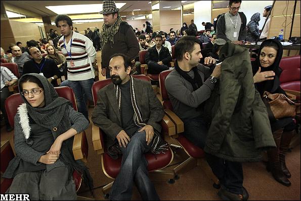 عکسهای دیدنی نشست خبری فیلم جدایی نادر از سیمین با بازیگران