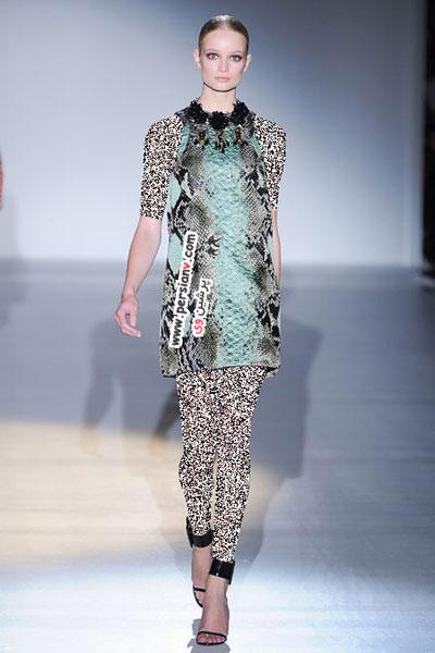 مدل لباس های بهاره مارک Gucci در سال 2013