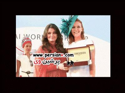 تصاویری از زیباترین زن آسیا در مسابقه ای در دبی عکس