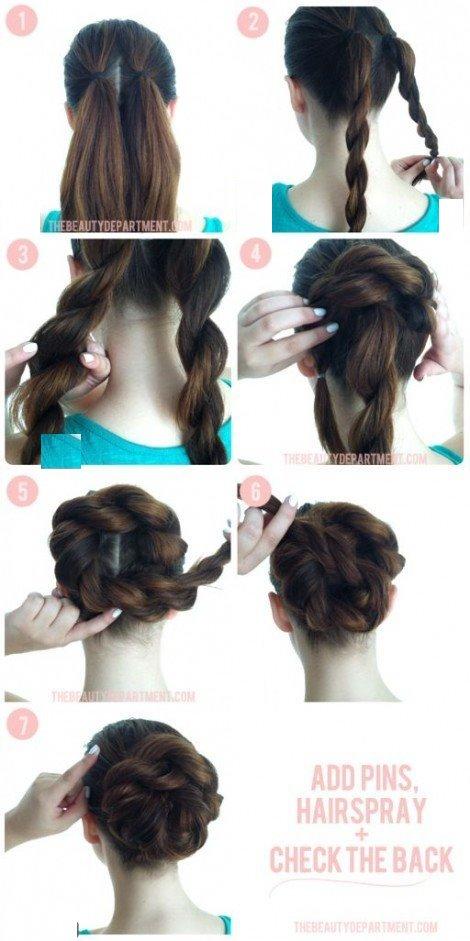 آموزش مدل مو دخترانه ساده وشیک