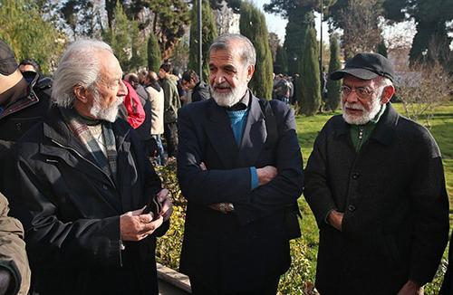مراسم تشییع مرتضی احمدی با حضور پرشور مردم