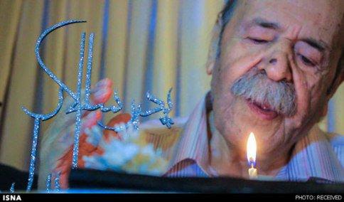 مراسم جشن تولد 86 سالگی محمدعلی کشاورز