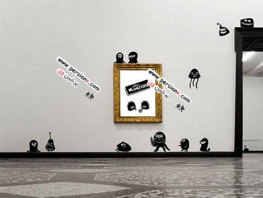 نمونه استیکرهایی برای تزئین اتاق خواب کودکان ( عکس)