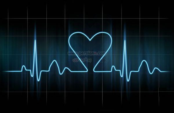 عکس : ضربان دیدنی قلب یک ذخترعاشق
