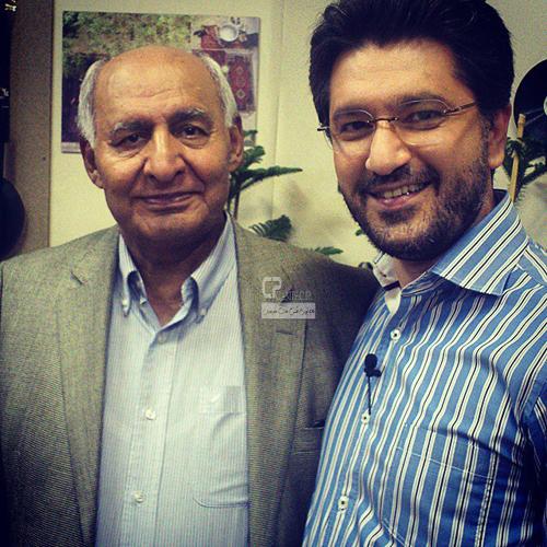 عکس جدید امیرحسین مدرس و همسرش