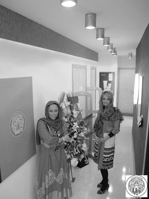 حضور متفاوت بهنوش بختیاری در سالن زیبایی تیارا در تهران