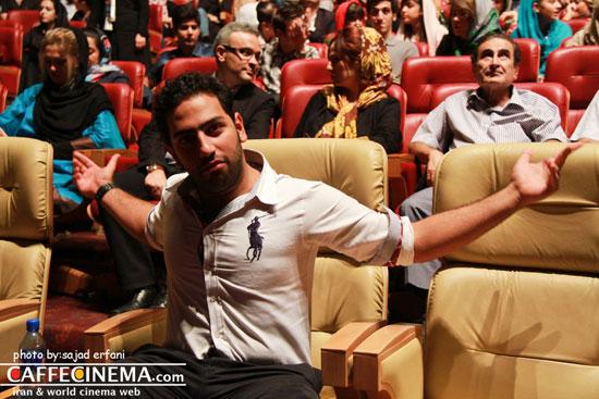 عکسهایی از حضور هنرمندان سینما و تلویزیون در کنسرت فرزاد فرزین