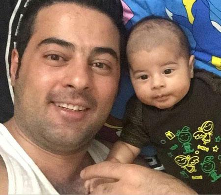 حمید اصغری خواننده کشورمان و پسرش